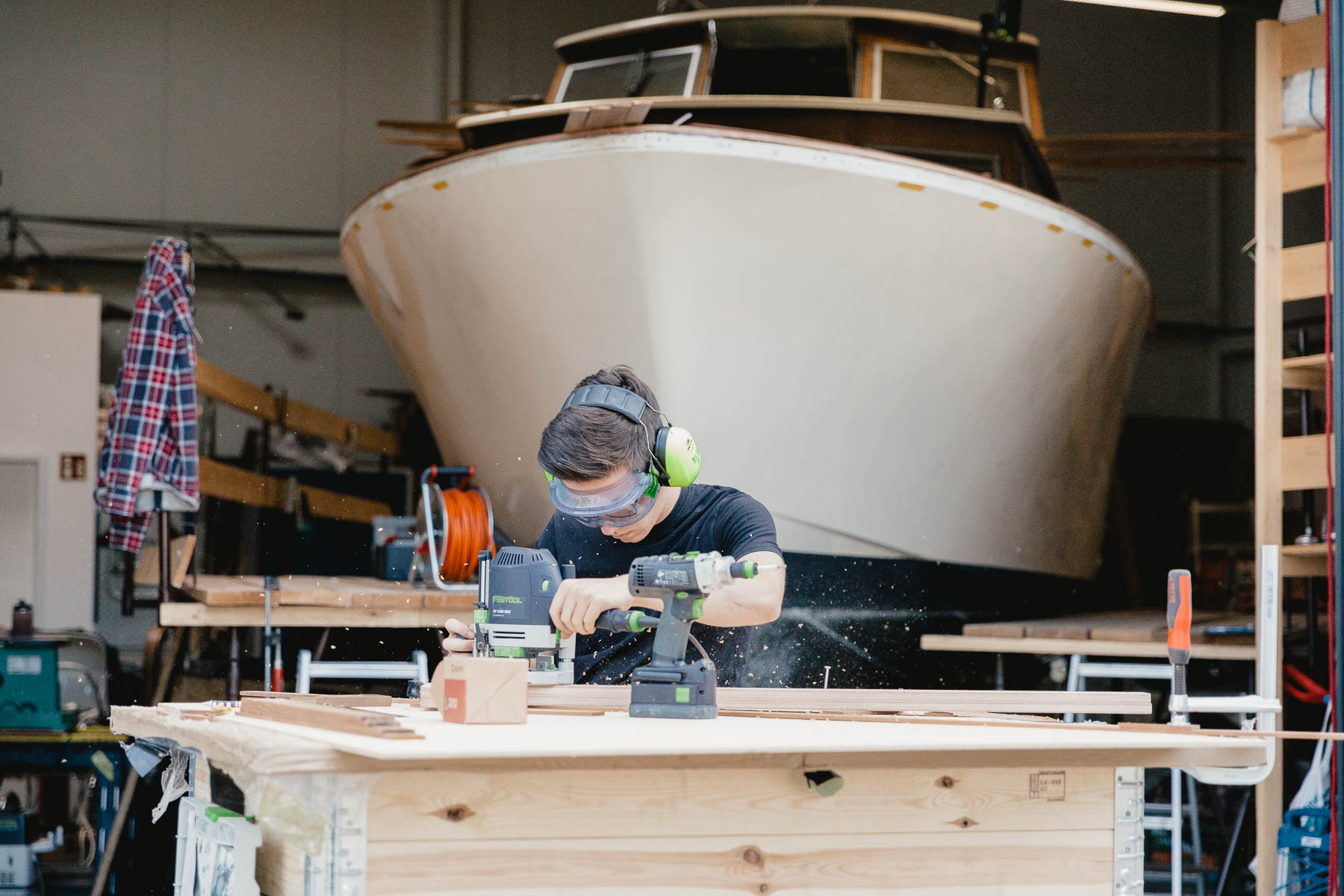 Ausbildung-Bootsbau-Schiffbau-Norman-Bootsbau-Potsdam