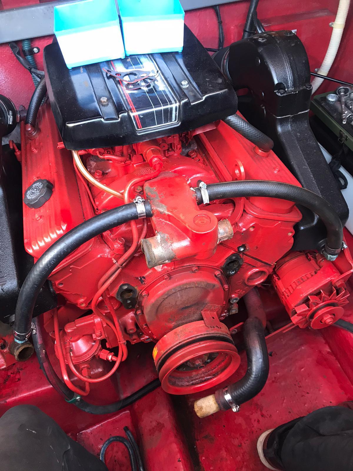Motorenreparatur-Norman-Bootsbau