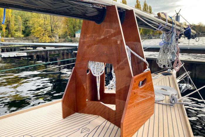 Maststütze-Carbonmast-Saffier-Yacht-Norman-Bootsbau-Berlin