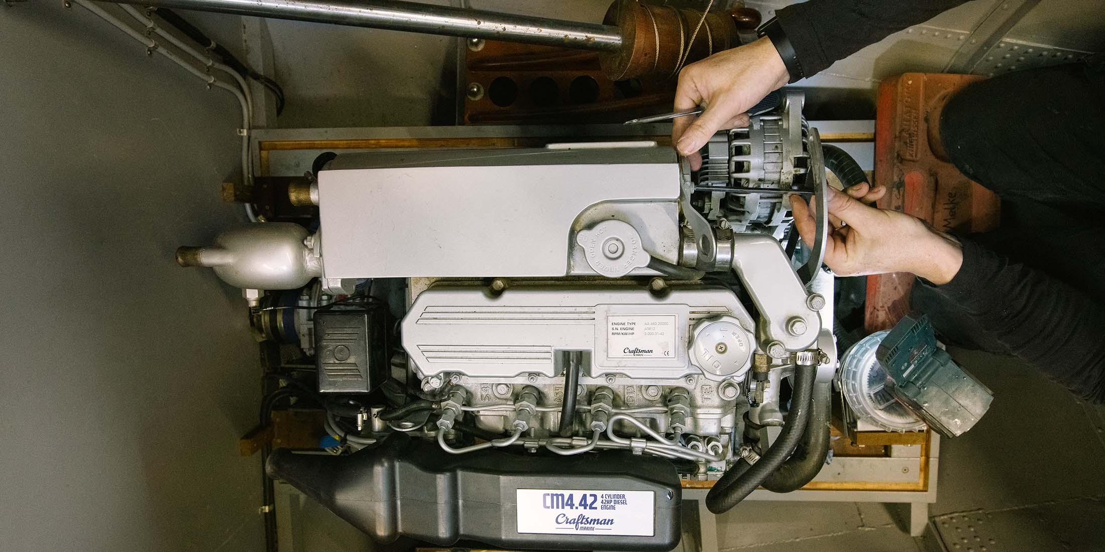 Bootsmotorenwartung – 24