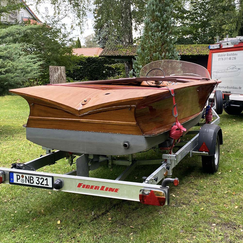 Normanbootsbau-Motorboot-Panther